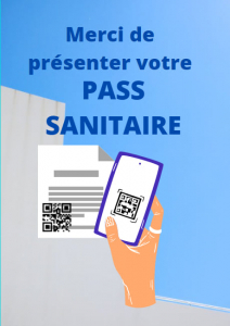 Pass Sanitaire obligatoire dès le 23 août